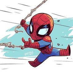 New Spider-Man Homecoming trailer looks awesome! Inspired me to draw more Spidey action! Marvel Comics, Heros Comics, Chibi Marvel, Marvel Heroes, Chibi Superhero, Superhero Sketches, Flash Comics, Spiderman Art, Amazing Spiderman