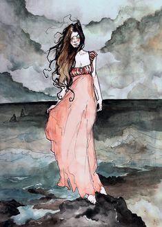 Annabel Lee Painted by *AbigailLarson on deviantART
