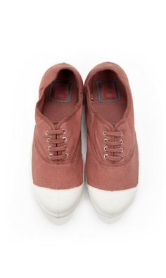 Old rose tennis Bensimon - perfect vacation shoes :)