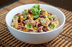 Melinda Besinaiz: Slow Cooker Santa Fe Chicken