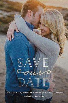 Save the Date design by @Minted