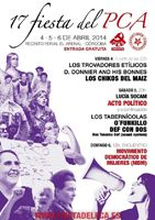 EVENTO: 5-4-2014 en Córdoba: Def Con Dos + O´Funkillo + Los Tabernícolas
