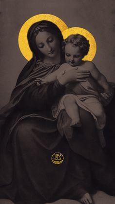 Catholic Prayers, Catholic Art, Catholic Saints, Religious Art, Jesus Christ Images, Jesus Art, Catholic Wallpaper, Our Lady Of Sorrows, Blessed Mother Mary