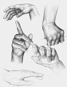 Hand Study by Raven-Scribbles.deviantart.com on @deviantART