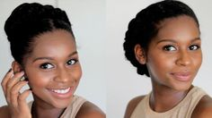 Easy Protective Styles [Video] - http://community.blackhairinformation.com/video-gallery/natural-hair-videos/easy-protective-styles-video/