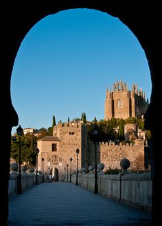 Entrance to the medieval city of Toledo, Spain.