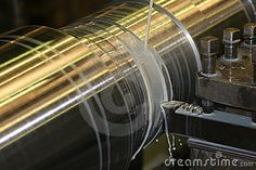 Dad used to turn stainless steel like this in his Ambridge machine shop.
