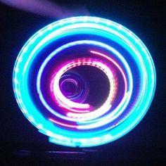 4 light LED Orbit