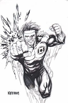 KYLE RAYNER by TYLER KIRKHAM , in MGA-MICHAEL ALEXANDER's FOR SALE Comic Art Gallery Room - 1031442
