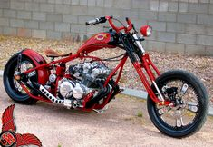 old school chopper. not to keen on the huge gap between the top of the motor and tank but like it otherwise. Bobber Bikes, Cool Motorcycles, Indian Motorcycles, Triumph Motorcycles, Vintage Motorcycles, Bike Magazine, Old School Chopper, Harley Davidson News, Old Bikes