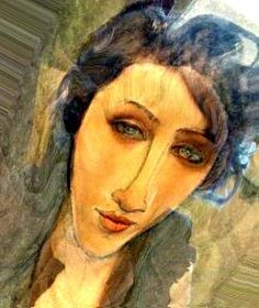 Mari, by Amadeo Modigliani                                                                                                                                                                                 More