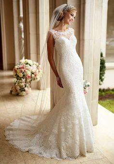 Stella York 6125 Mermaid Wedding Dress