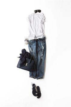 Kyoko Kikuchi's Closet | 白T×デニム、永遠に好きな組み合わせ