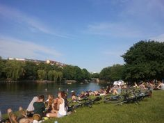 Berlin. Sommer. Landwehrkanal.