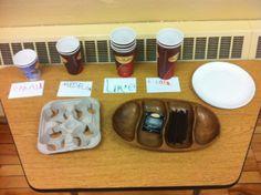Organizing Cups