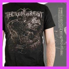 FL&AEVVE NECROPHAGIST Fermented Offal Discharge T SHIRT New Official personalizar camisetas baratas