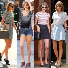 Yepp. Flawless. (Taylor Swift New York Street Style Spring 2014)