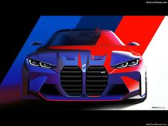 Bmw Design, Car Design Sketch, Car Sketch, New Bmw M3, Bmw M4, Bmw M3 Sedan, Rear Wheel Drive, Cool Sketches, Transportation Design