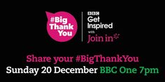 Give a shout-out to sport's great enablers. Tune into @eddieizzard's #BigThankYou: https://www.joininuk.org/eddie-izzard-to-lead-the-bigthankyou-to-grassroots-sport/