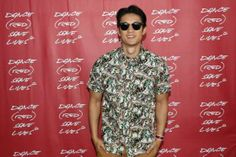 #HarryShumJr. poses during DANCE (RED) SAVE LIVES at #Stereosonic Sydney on November 30, 2013 in Sydney, Australia #charity
