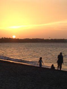 Kids like sunsets too!
