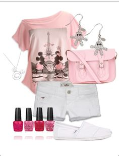 Disney Inspired Outfit Mickey Mouse and Minnie Mouse