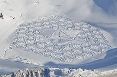 5 | Snow Becomes A Canvas For Intricate, Temporary Art Works | Co.Design: business + innovation + design