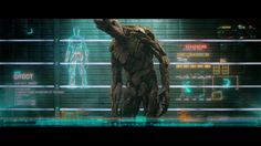 Guardians of The Galaxy UI Reel » [Territory Studio] #UI #motiongraphics #animation #showreel #GotG