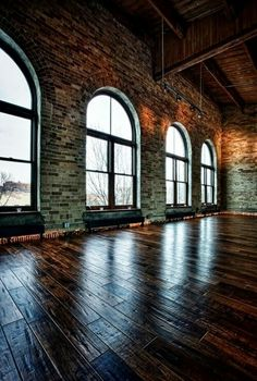 Love everything. Windows, floors and walls