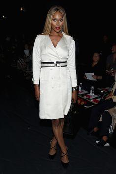 Laverne Cox à la Fashion Week de New York