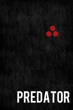 Predator poster movie poster minimalist poster 11x17. $19.00, via Etsy.