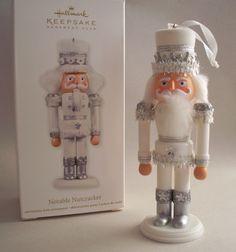 Notable Nutcracker.  Hallmark KOC Ornament, 2012.