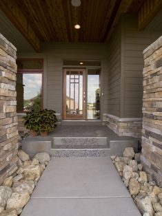 Contemporary Spaces Rustic Home Exteriors Design, Pictures, Remodel, Decor and Ideas - page 13