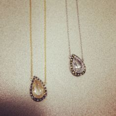 Yellow | White | Gold | Quartz | Necklace | Diamond | Edge | Cool | Trends | Whitney Stern Jewelry