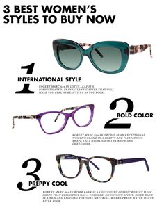 2b7fefbe27d Update your spring eyewear with these 3 fun and flirty women s styles  SS16   robertmarc