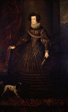 Queen Isabella of Spain (1602-1644), consort of King Philip IV (1605-1665), Studio of Diego de Velázquez