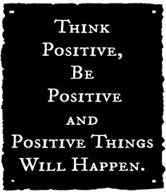 I keep saying this to myself everyday - don't let negative thoughts or people affect you