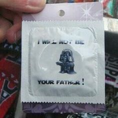 I will not be your father! (vader wear)