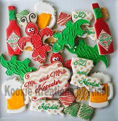 Louisiana cookies - Kookie Kreations by Kim