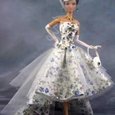 Barbie Dress, Classic Style, Ball Gowns, Formal Dresses, Trending Outfits, Unique Jewelry, Clothes, Vintage, Fashion
