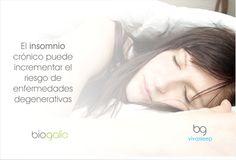 El #insomnio crónico puede incrementar el riesgo de enfermedades degenerativas
