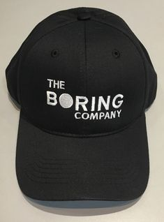6b09a7db0807 The Boring Company Hat - Elon Musk - Tesla - Space X - Limited Edition SOLD