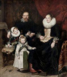 Cornelis de Vos · Autoritratto con la famiglia · 1631 · Musées Royaux des Beaux Arts de Belgique · Brussels