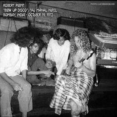 Robert Plant & Jimmy Page In Bombay, India The Band, John Bonham, John Paul Jones, Jimmy Page, Hard Rock, Heavy Metal, Almost Famous Quotes, Page And Plant, Robert Plant Led Zeppelin