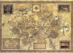 For all things Tolkien, Lord of The Rings, and The Hobbit . Fellowship Of The Ring, Lord Of The Rings, Fantasy Map, Fantasy World, Mines Of Moria, Rpg Map, Middle Earth Map, J. R. R. Tolkien, Dungeon Maps