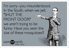 Humor. Funny Pictures. Mosquitoes. ecards.