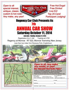 Best Car Show Flyers Images On Pinterest Car Show Flyers And - Car shows in nj