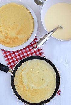 Banana Pudding Recipes, Polish Recipes, Polish Food, Tzatziki, Brie, Cornbread, Pancakes, Recipies, Food And Drink
