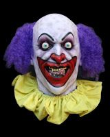 Lust Scary Clown Halloween Mask in Masks: Super detailed, full over the head Halloween mask, individually hand painted for the most realistic look possible. Scary Clown Face, Gruseliger Clown, Clown Faces, Halloween Clown, Halloween Ideas, Halloween Horror, Haunted Halloween, Halloween Carnival, Halloween Photos