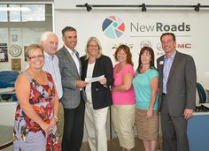 NewRoads Big Brothers Big Sisters Charity Classic Car Show Cheque Presentation | NewRoads Automotive Group, Newmarket, Ontario #FindNewRoads